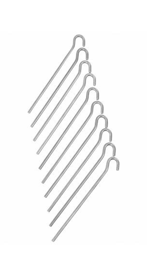 CAMPZ Markpinne slät 18 cm aluminium